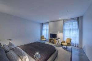 Réalisation de chambre d'hôtel moderne à Boulogne Billancourt
