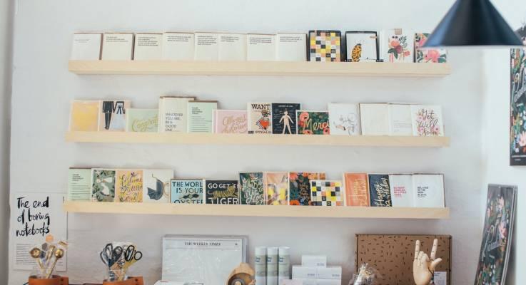 aménagement de librairie
