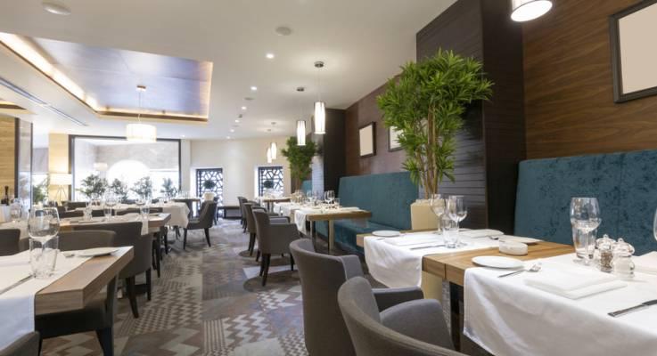 restaurant dans un hôtel