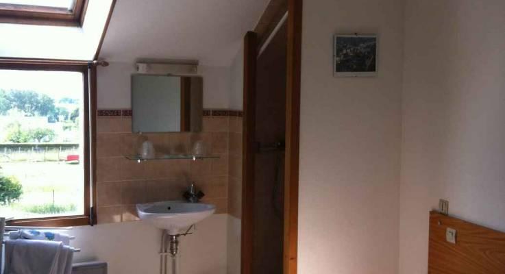 Chambres d'hôtel avant travaux, Pontorson (50)