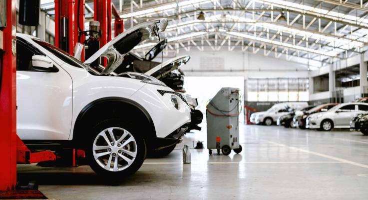 Aménagement d'un garage automobile