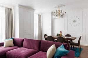 Rénovation d'un salon parisien à Saint-Cloud