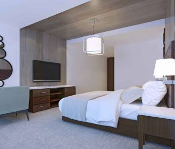 Rénovation d'hôtel