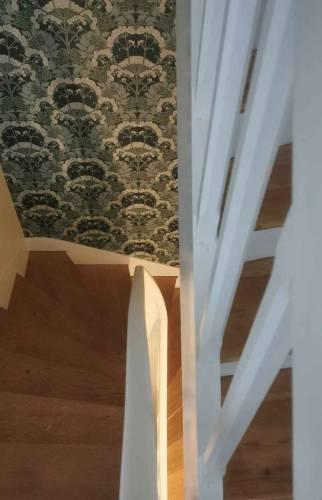montée de l'escalier