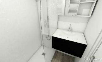 Simulation 3D de la Salle de douche