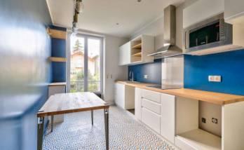 Création d'une cuisine sur-mesure dans un appartement à Paris