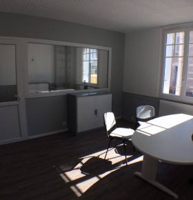 Aménagement de bureaux par l'agence de Joué-lès-Tours