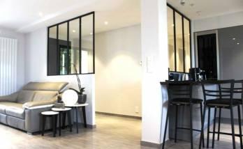 Versailles - rénovation d'un appartement - vestibule d'entrée