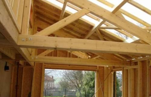 réalisation d'une charpente traditionnelle - toiture