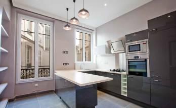 Aménagement d'une cuisine à Paris 8