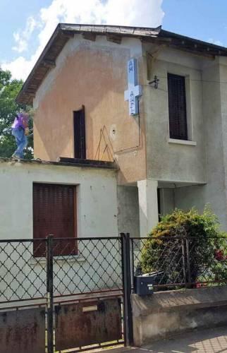 Maison avant ITE - Lyon / Bron