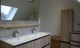 Nouveau meuble vasque avec grand miroir