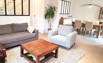 Rénovation maison Voisins-le-Bretonneux - salon