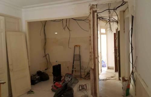 Rénovation Appartement Lyon 6  - Travaux en cours
