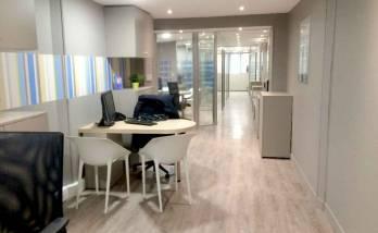 Rénovation et agencement d'une agence immobilière - La Maison Des Travaux Caen-Ouistreham