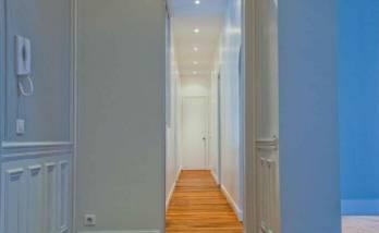 Rénover un couloir à Paris étoile
