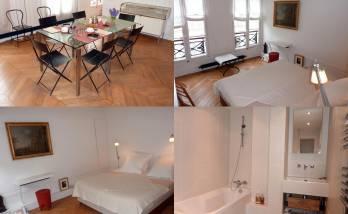 Rénovation complète d'un appartement rue du Bac (Paris 7ème)
