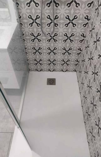 Rénovation salle d'eau receveur plat douche Essonne 91