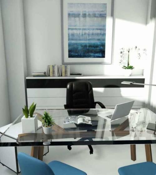 bureaux d'entreprise modernes