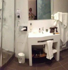 Chambres d'hôtel après travaux, Pontorson (50)