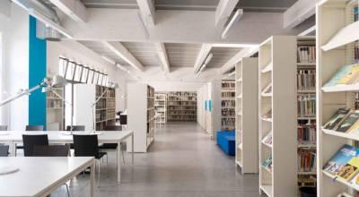 Rénovation d'une bibliothèque publique