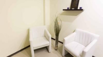 Salle d'attente cabinet dentaire