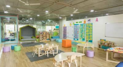 Aménagement espace enfants en entreprise