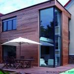 Création d'une extension bois à Paris 15